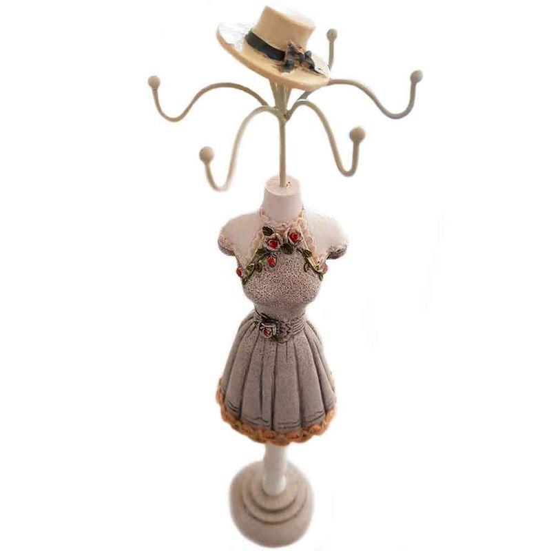 porta-joias-retro-vestido-e-chapeu-bege-floral-resinal-30cm-01