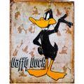 Placa-De-Metal-Daffy-Duck---Looney-Tunes
