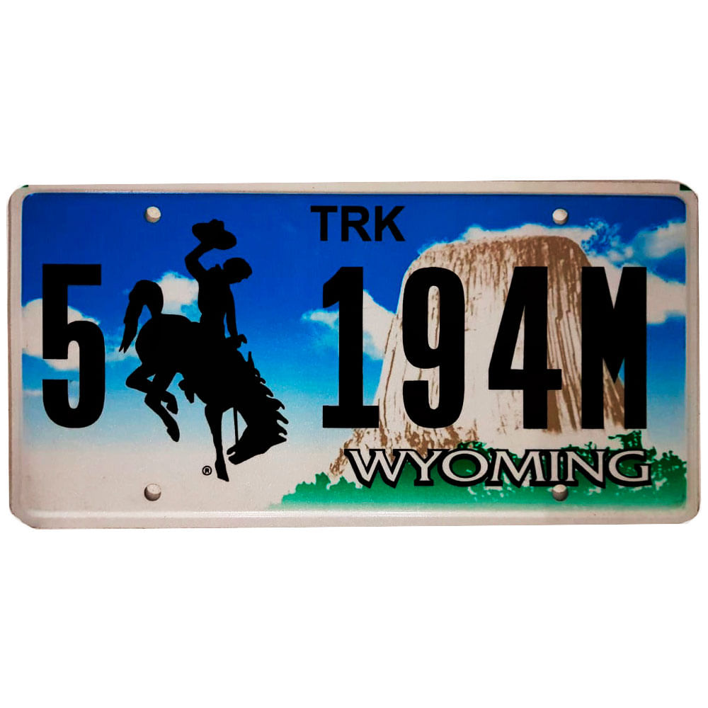 Placa-De-Carro-De-Metal-Importada-5-194m-Wyoming