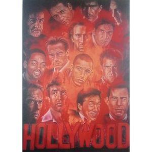Quadro-Tela-Atores-De-Hollywood