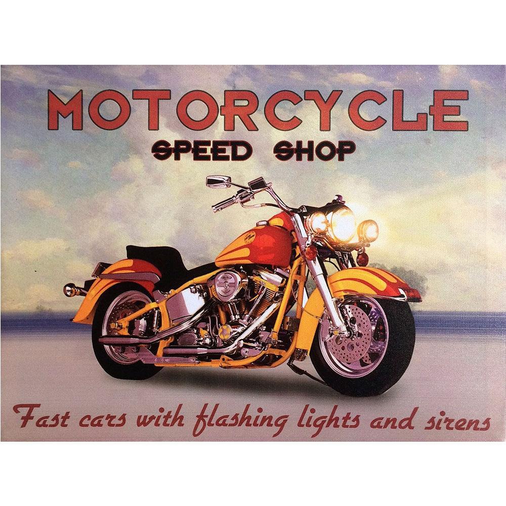 Quadro-Tela-Com-Led-Motocicleta