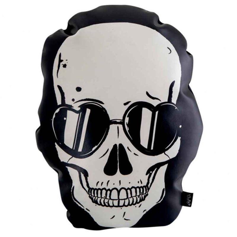 Almofada-Skull-Black