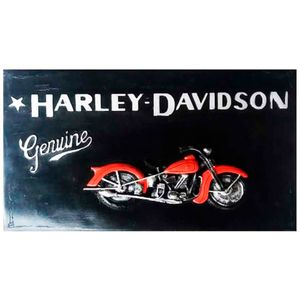 quadro-de-resina-harley-davidson