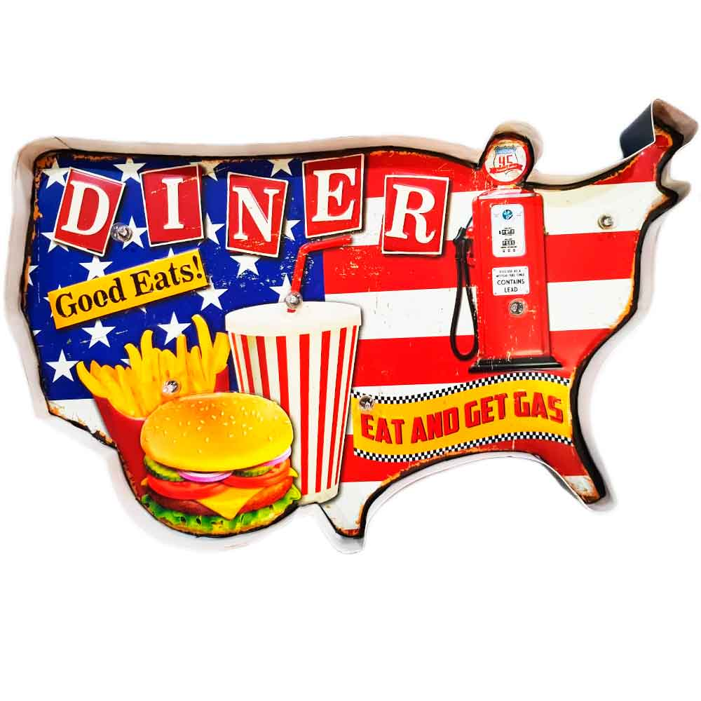 luminoso-a-pilha-retro-diner-good-eats