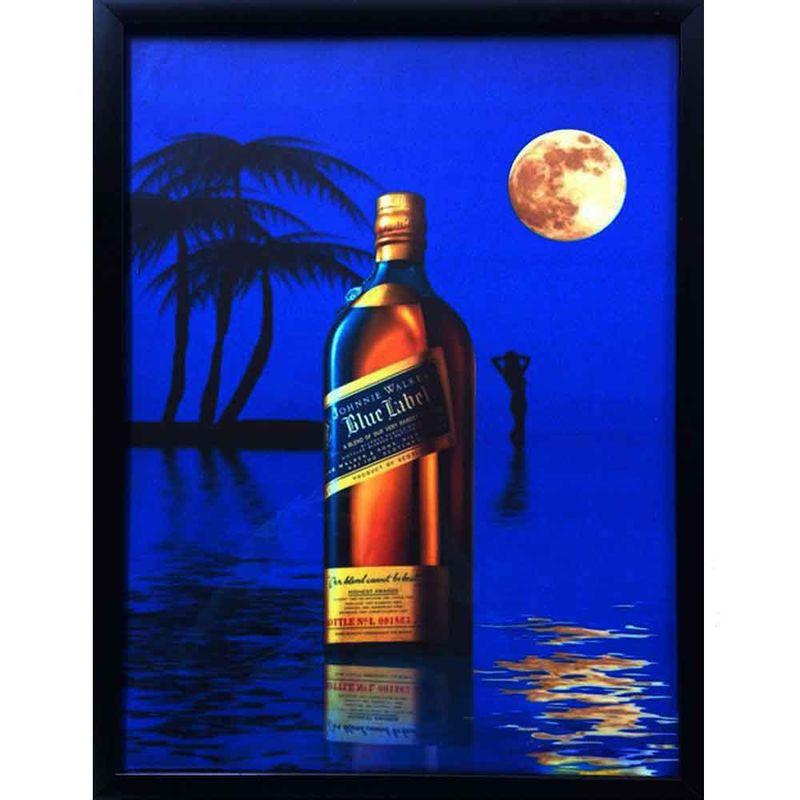 quadro-vidro-whisky-johnnie-walker-blue-label