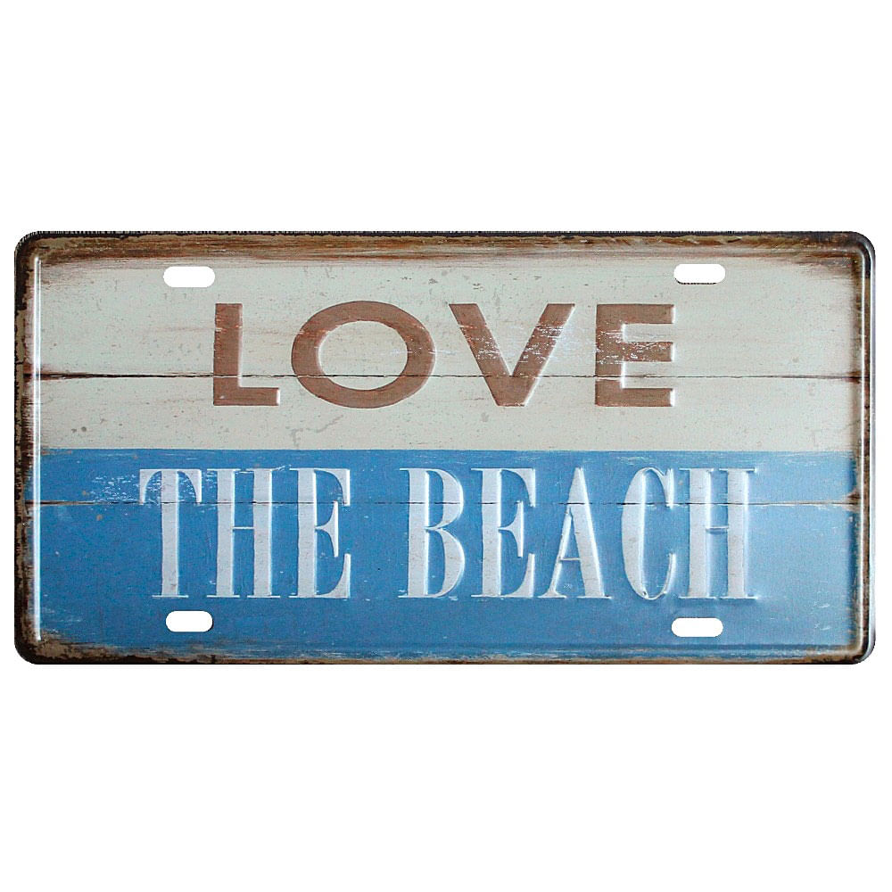 placa-de-carro-decorativa-em-metal-love-the-beach-01