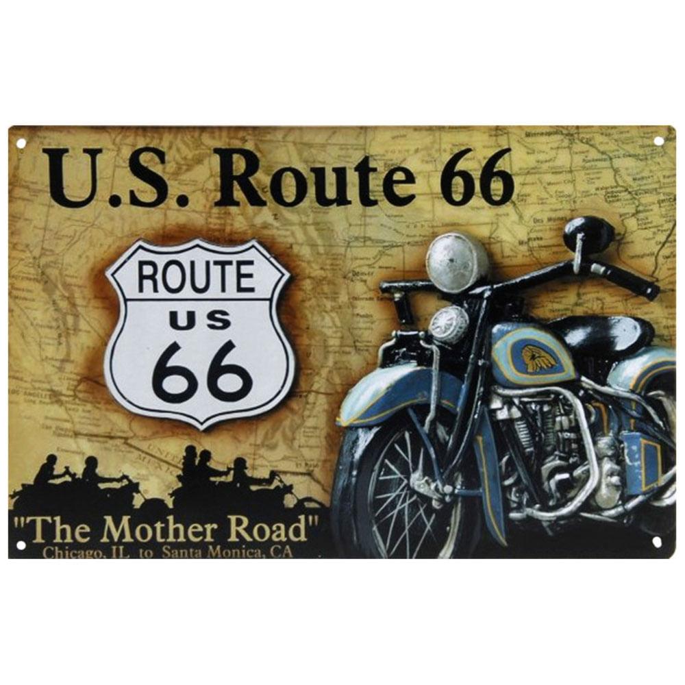 placa-decorativa-de-metal-us-route-66-01
