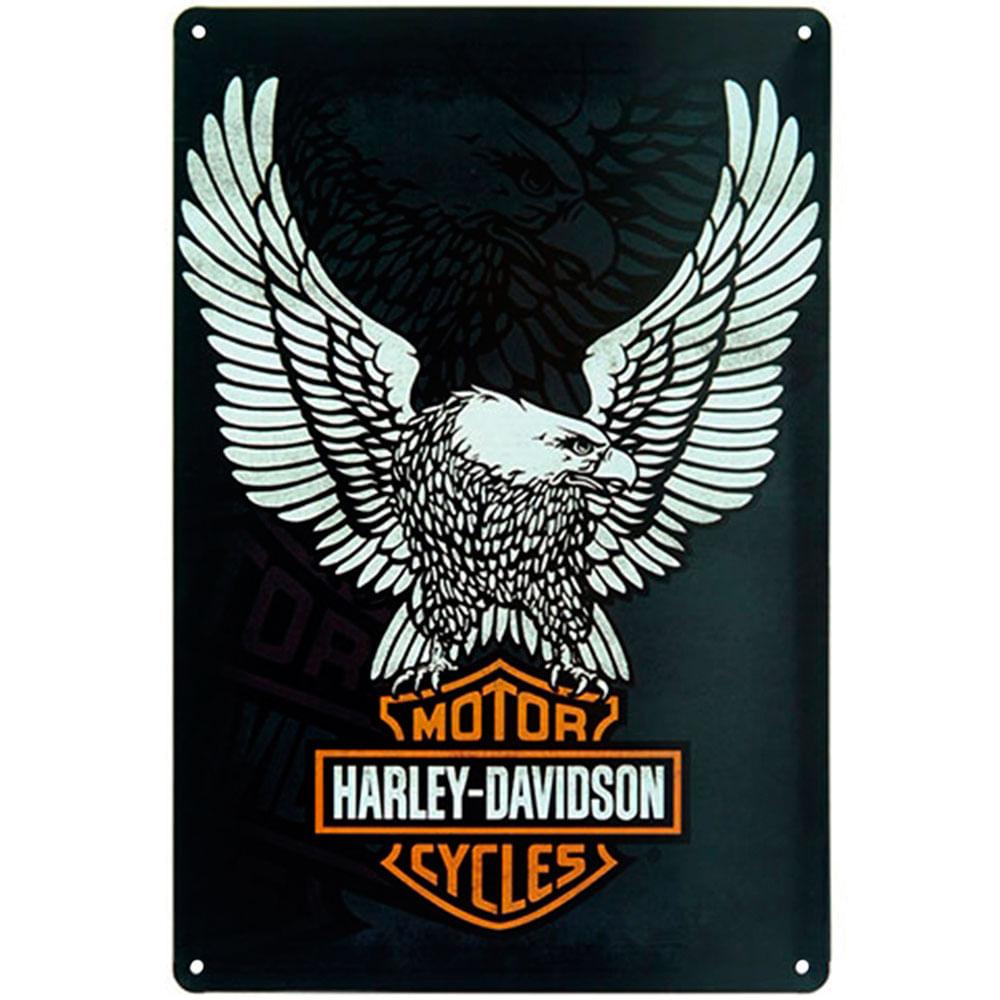 placa-decorativa-de-metal-harley-davidson-aguia-01