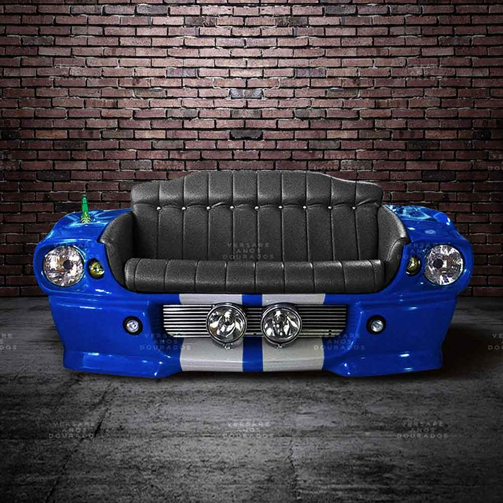 Sofa-Mustang-Grabber-Blue-Azul---Estofado-Preto