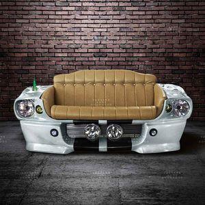 Sofa-Mustang-Rare-Color-Branco---Estofado-Caramelo