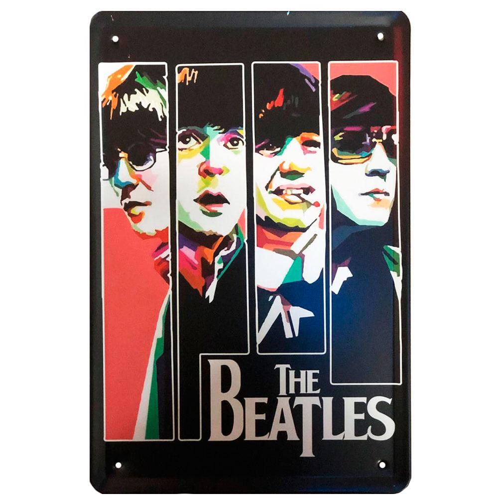 placa-decorativa-the-beatles
