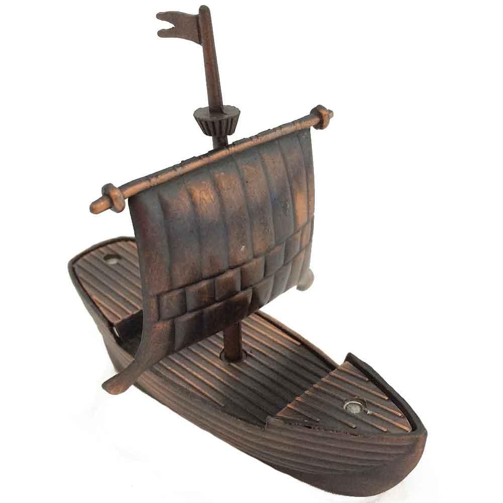 Apontador-Retro-Miniatura-Barco-A-Vela-Envelhecido
