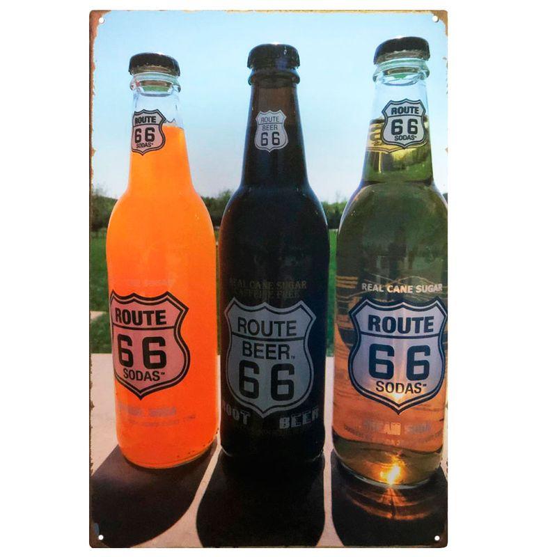 placa-decorativa-route-66-beer