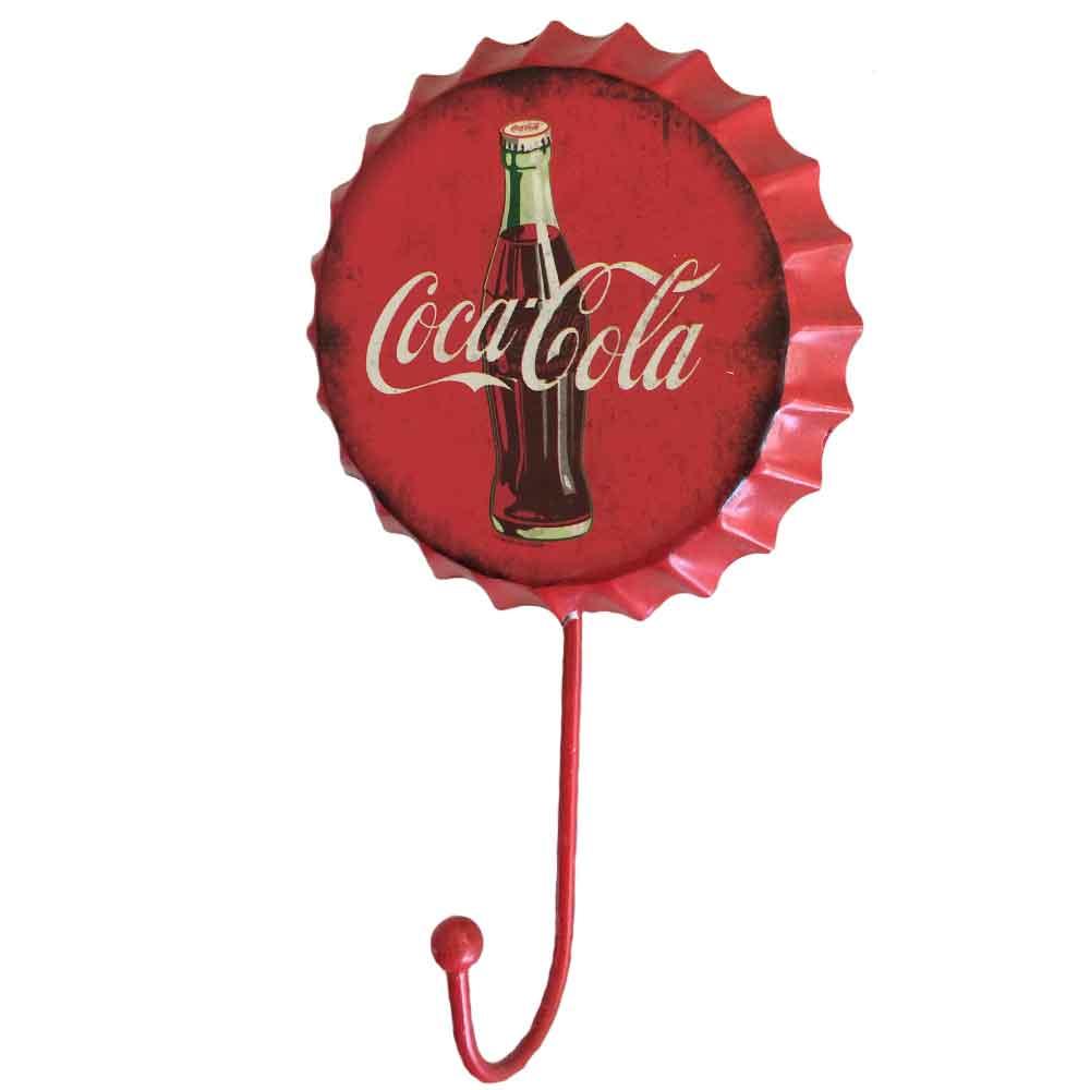 Gancho-De-Parede-Coca-Cola-Vermelho