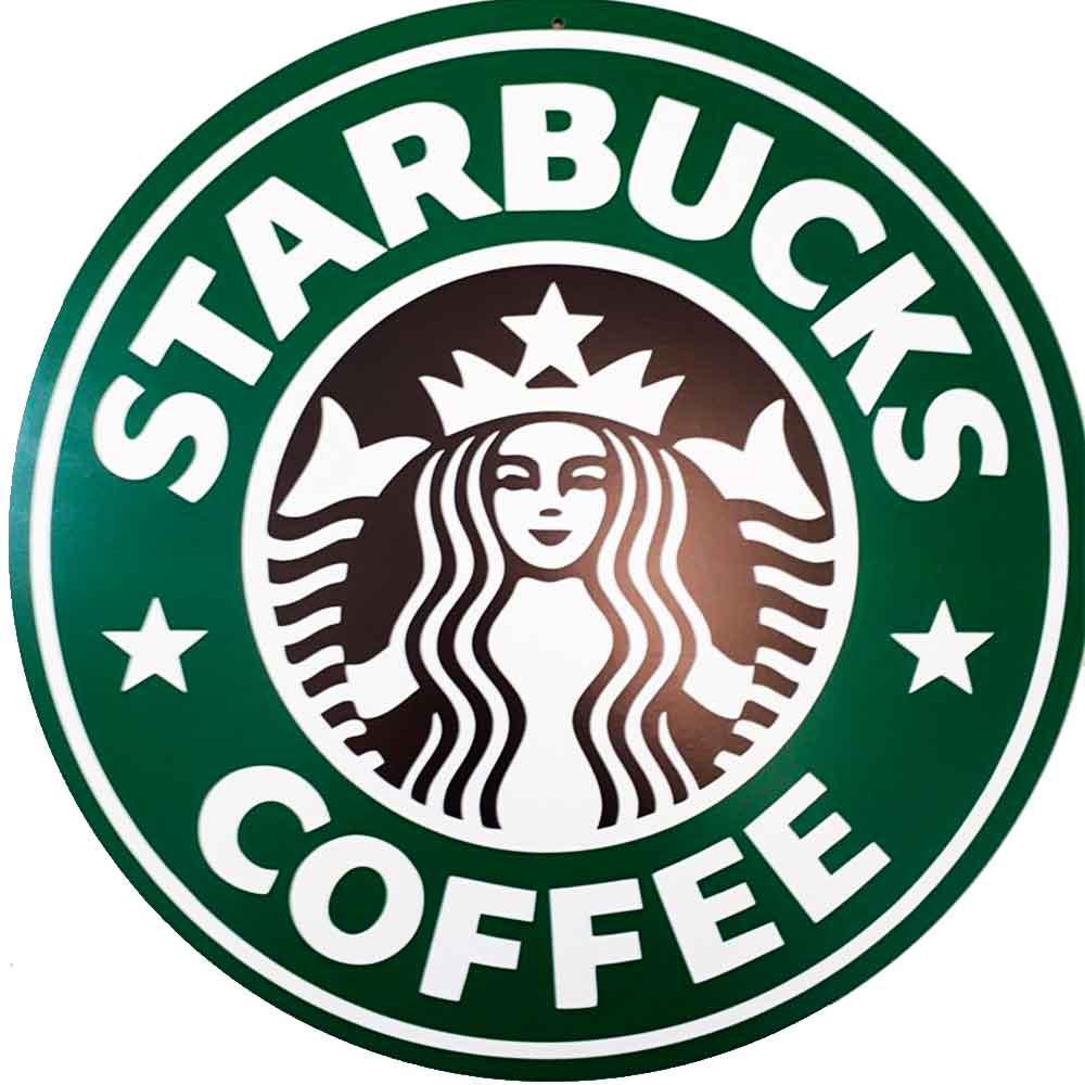 Placa-Decorativa-Mdf-Starbucks-Coffee