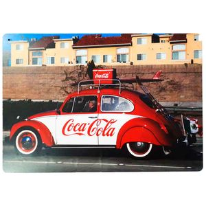 Placa-Decorativa-Mdf-Fusca-Coca-Cola