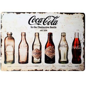 Placa-Decorativa-Mdf-Coca-Cola-In-The-Distinctive-Bottle