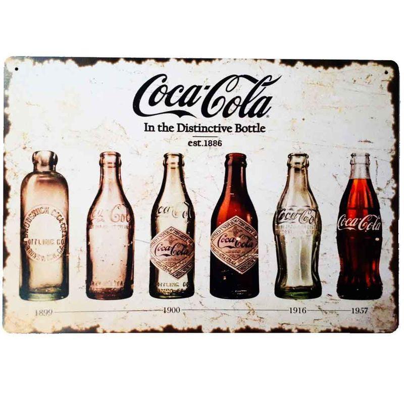 Placa-Decorativa-Mdf-Coca-Cola-In-The-Distinctive-Bottle