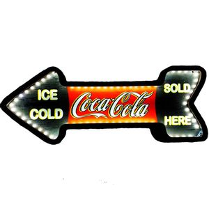 Placa-Decorativa-Mdf-Com-Led-Seta-Retro-Coca-Cola