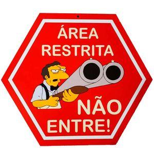 placa-decorativa-mdf-sinalizacao-area-restrita-nao-entre-cod-528201