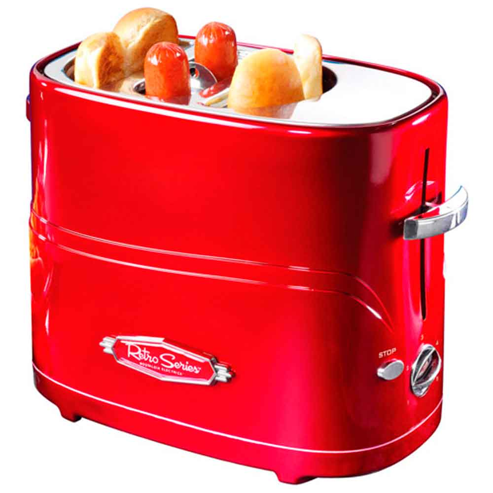 Hot-Dog-Toaster-Nostalgia-Eletrics------------------------------------------------------------------