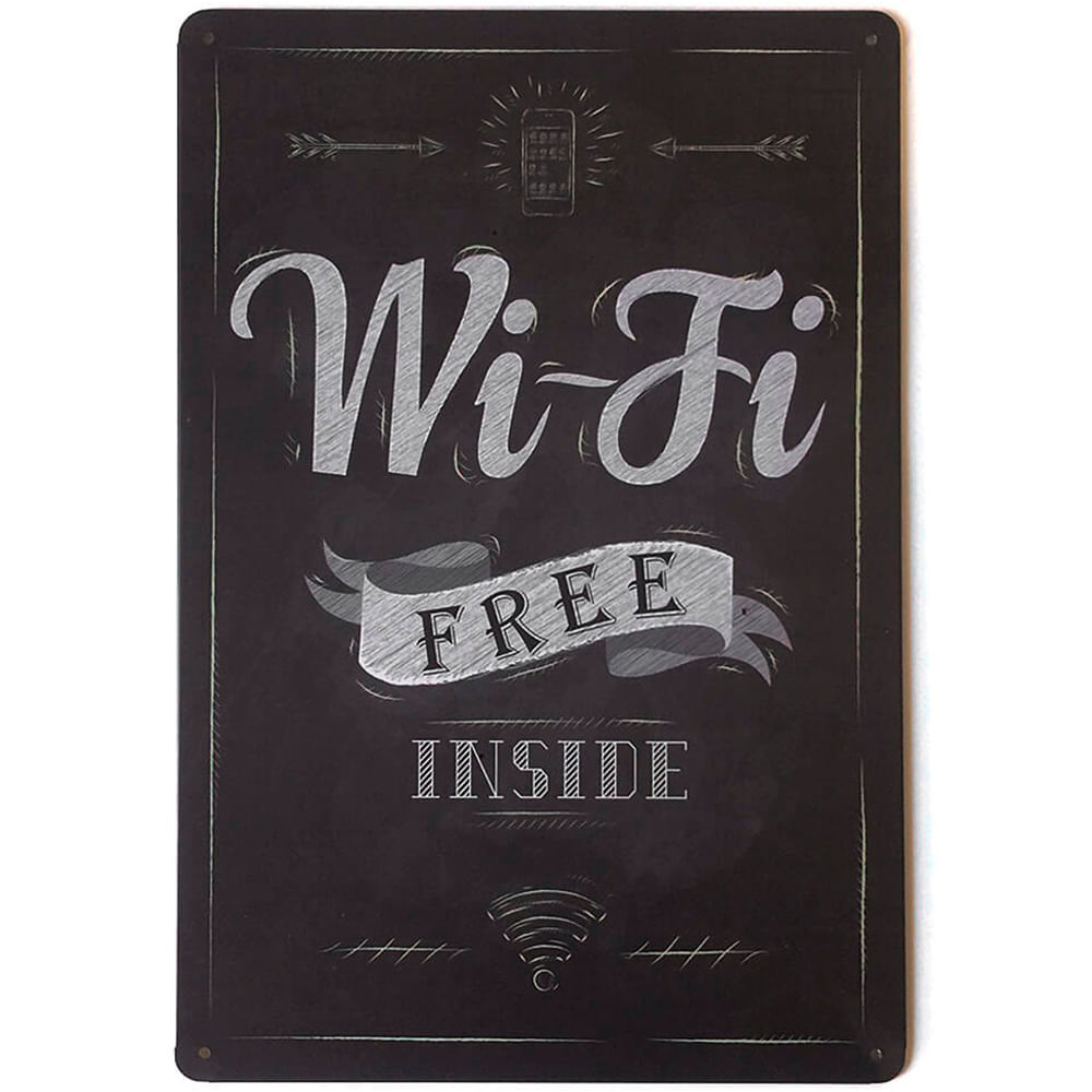 placa-decorativa-wifi-free-inside
