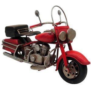 Miniatura-Motocicleta-Vermelha