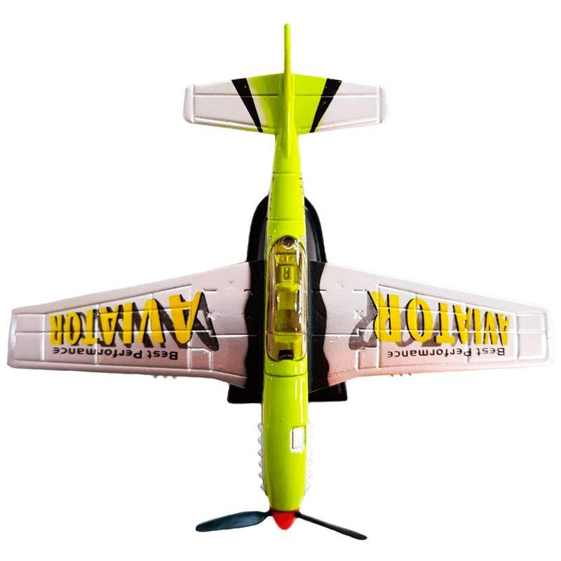 Miniatura-Colecionavel-Aeronave-Acrobacts-verd