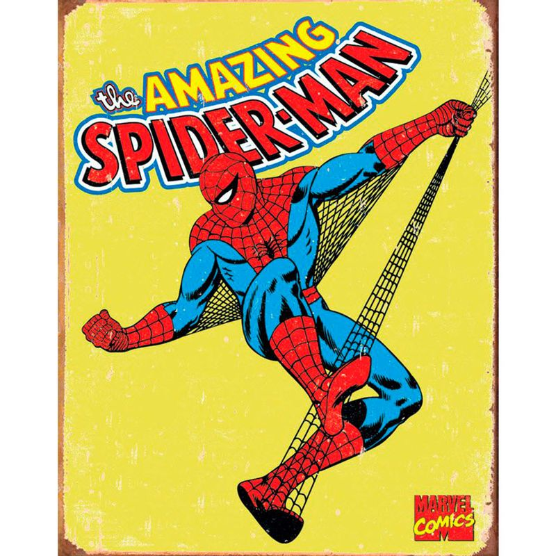 placa-em-mdf-the-amazing-spider-man