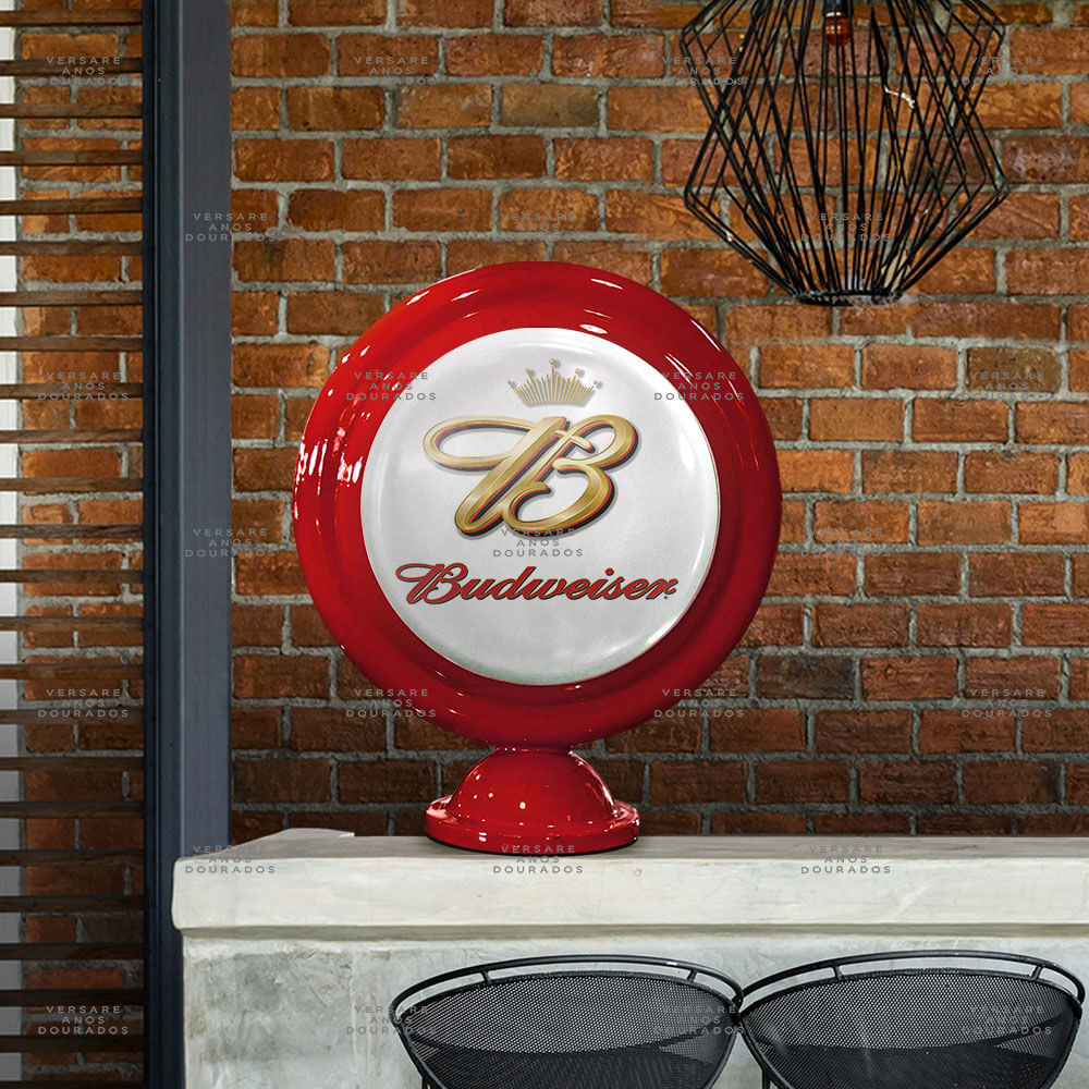 Luminaria-de-Mesa-Budweiser-Vintage-----------------------------------------------------------------