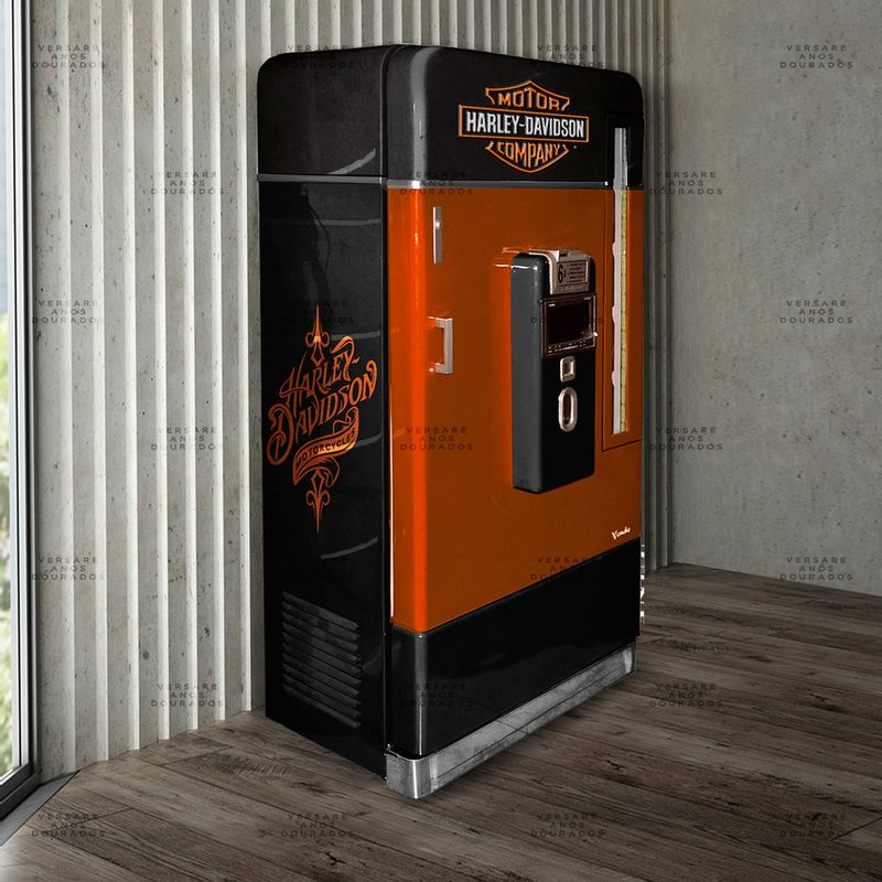 Armario-Jukebox-Com-Multimidia-E-Dvd-Harley-Davidson