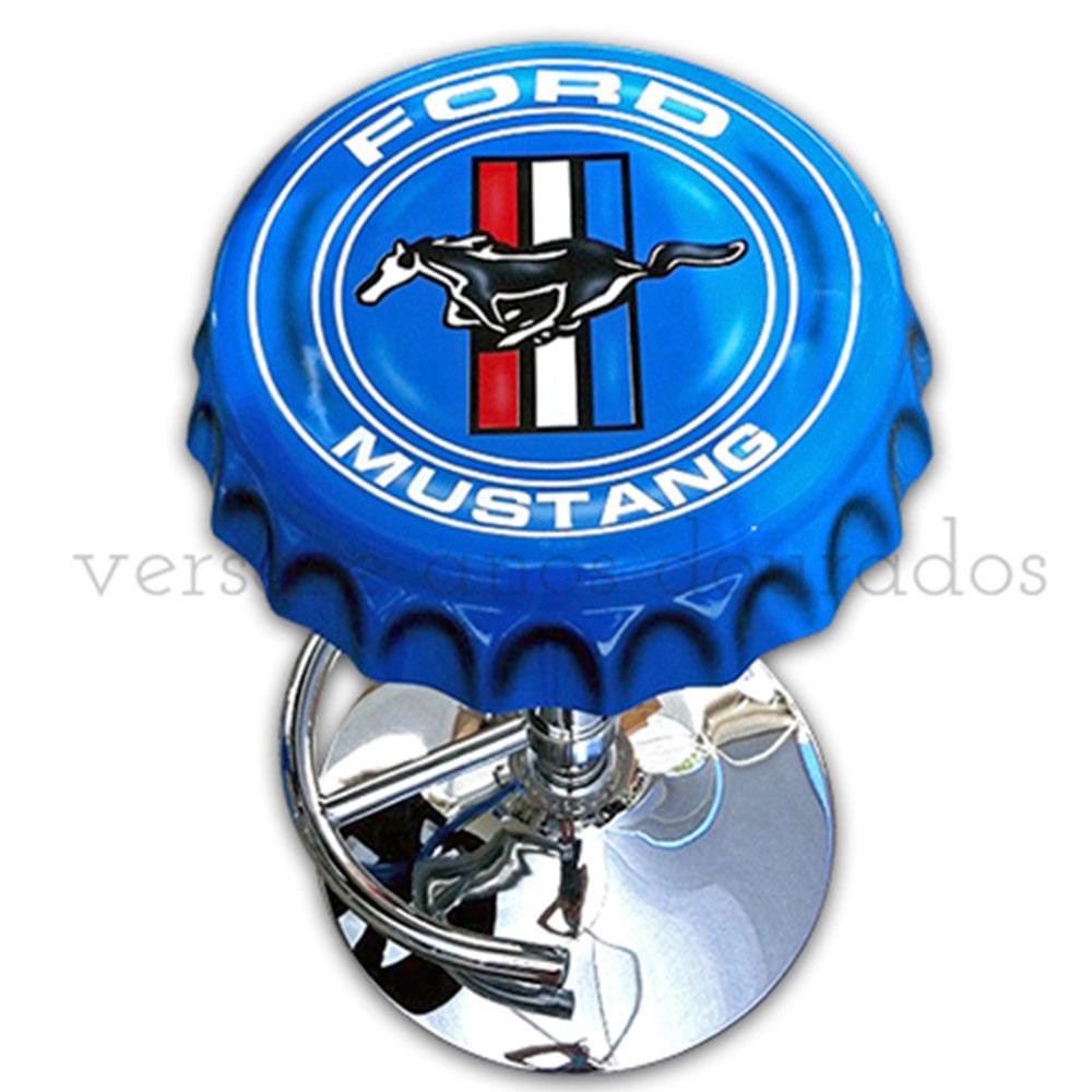 Banqueta-Giratoria-Tampa-De-Garrafa-Ford-Mustang-Azul