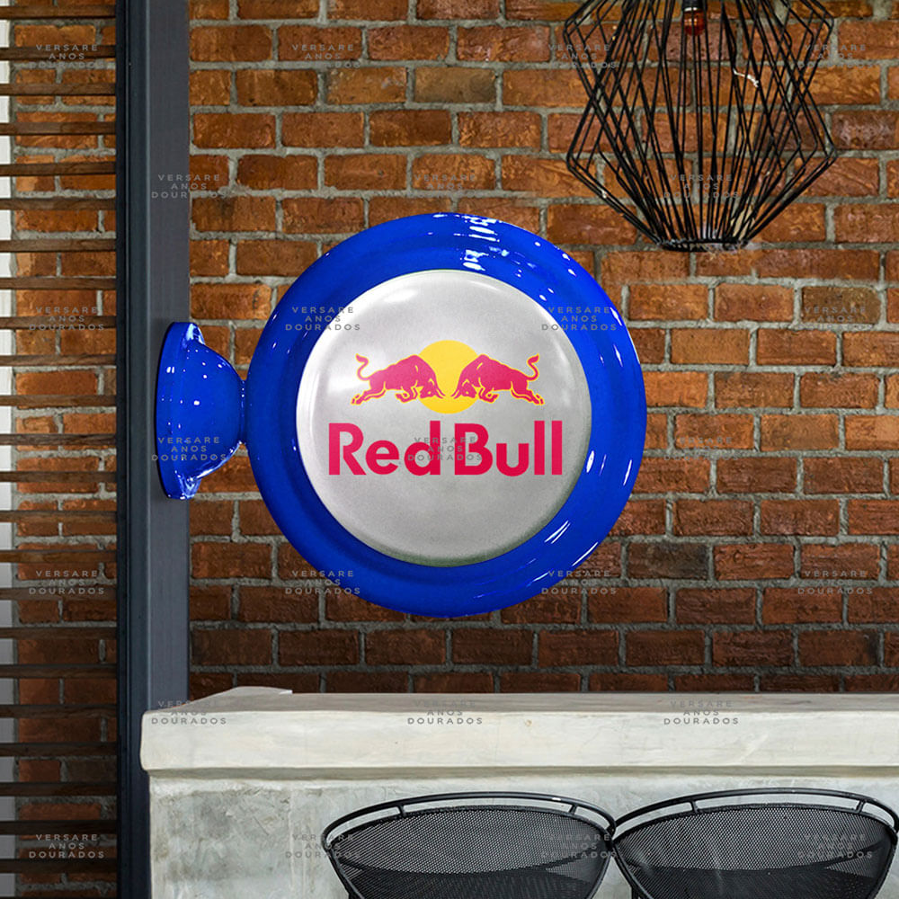 Luminaria-de-Parede-Red-Bull------------------------------------------------------------------------