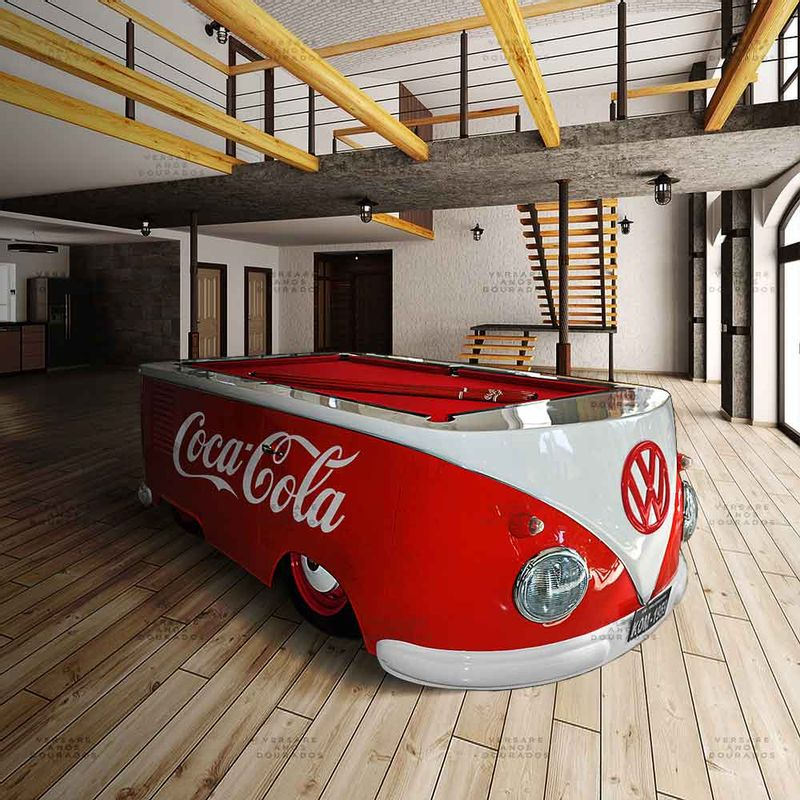 Mesa-de-Bilhar-Kombi-Coca-Cola----------------------------------------------------------------------