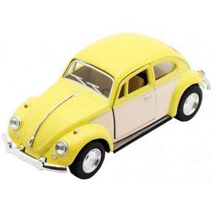 Miniatura-1967-Volkswagen-Fusca-Escala-1-32-Amarelo-Pastel