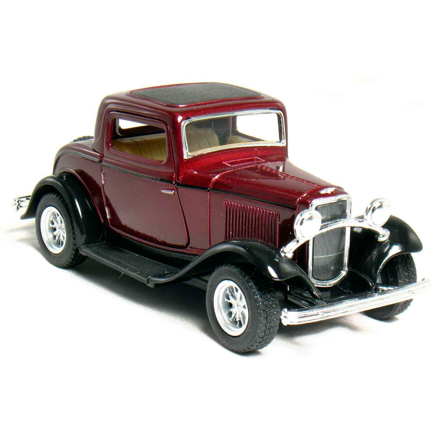 miniatura-1932-ford-coupe-escala-134-vinho-01