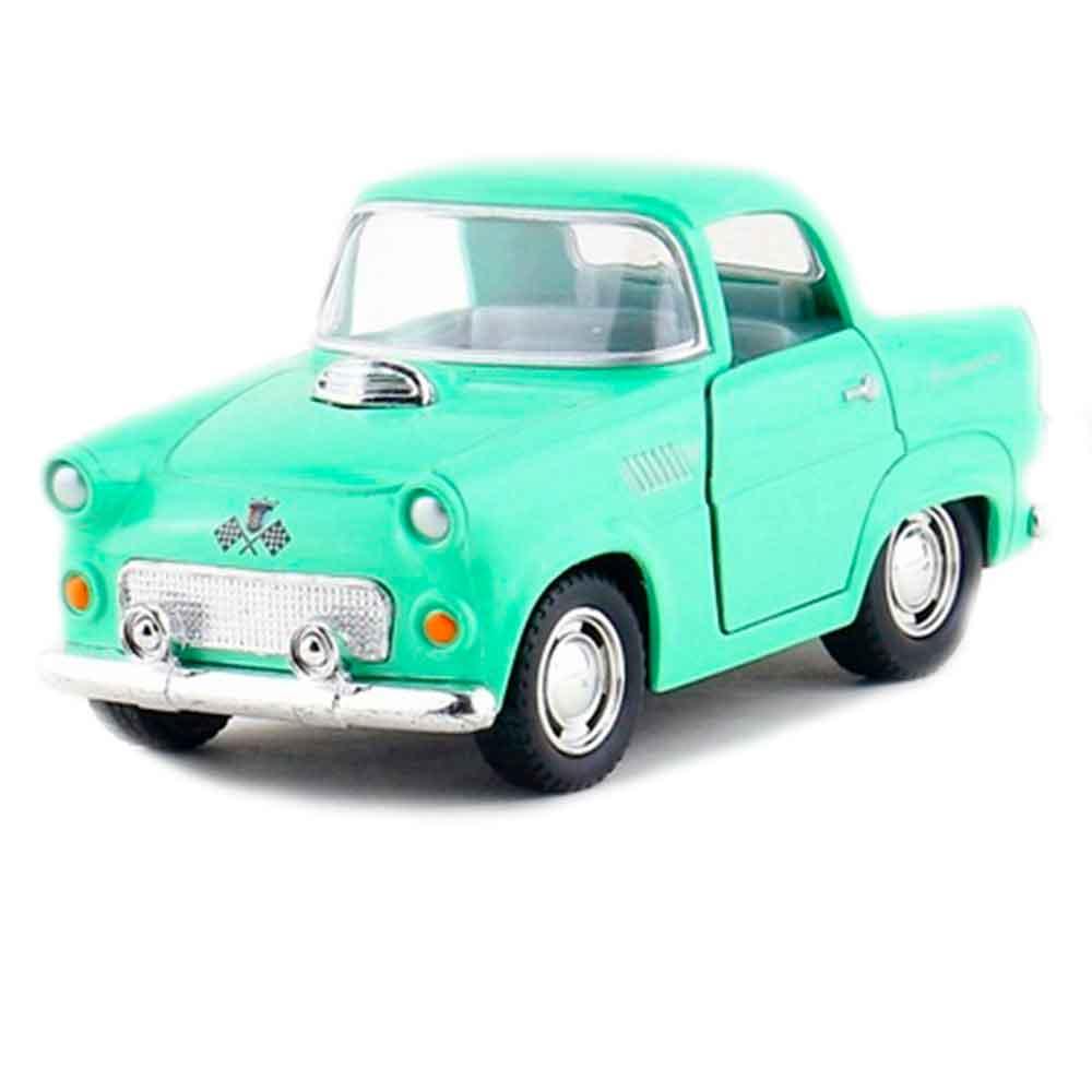 miniatura-1955-ford-thunderbird-escala-136-verde-pastel-01