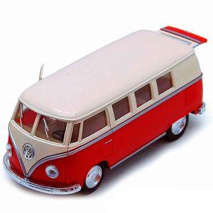 Miniatura-Kombi-1962-Escala-1-32-Vermelha
