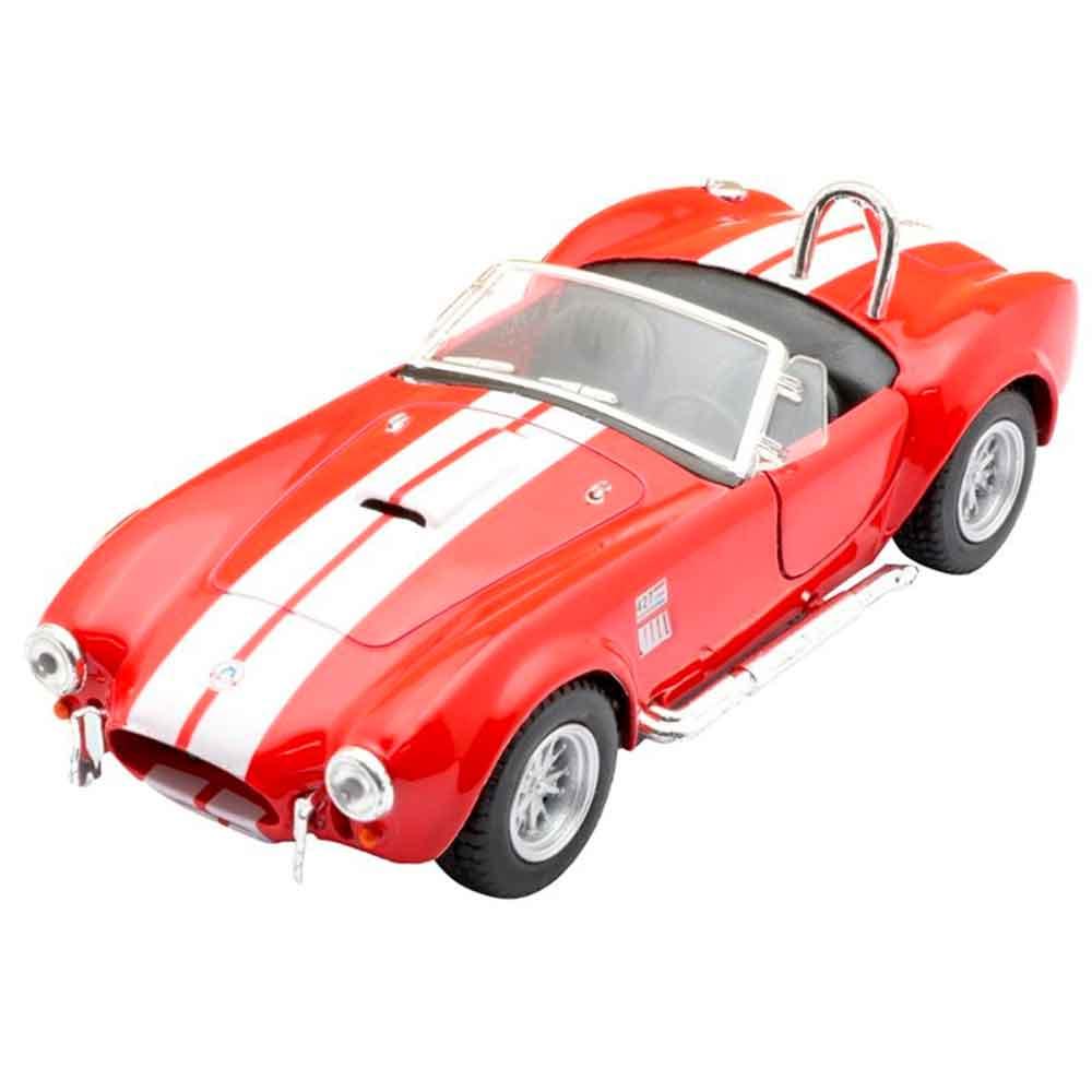 Miniatura-1965-Shelby-Cobra-Escala-1-32-Vermelho