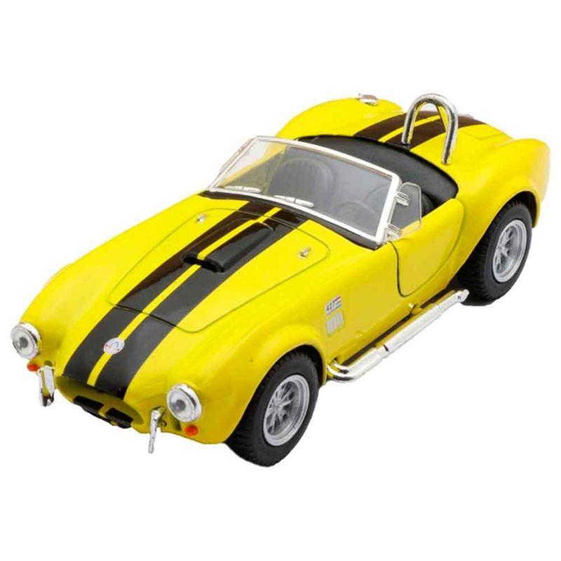 Miniatura-1965-Shelby-Cobra-Escala-1-32-Amarelo