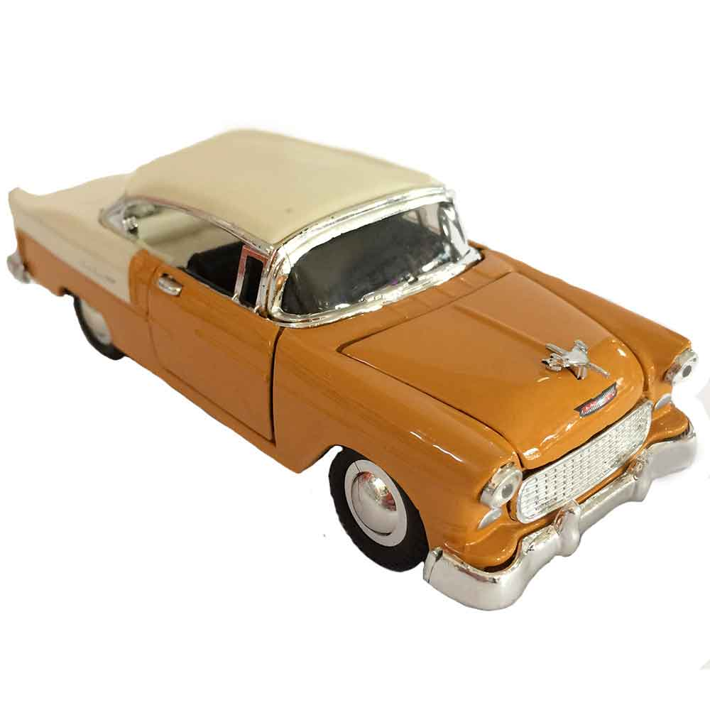 Miniatura-Chevy-Bel-Air-1957-Escala-1-32-Marrom