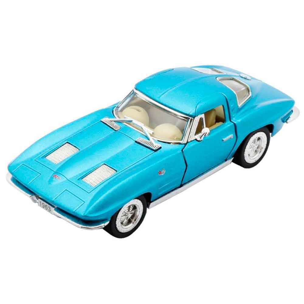 Miniatura-1963-Corvette-Sting-Ray-Escala-1-36-Azul