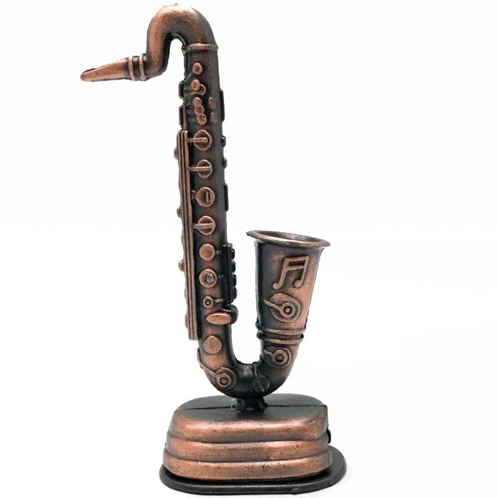 Apontador-Retro-Miniatura-Saxofone-Envelhecido
