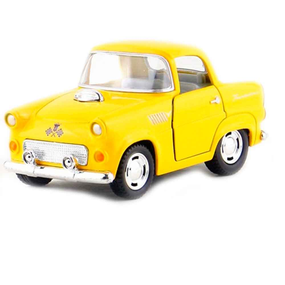 miniatura-1955-ford-thunderbird-escala-136-amarelo-pastel-01