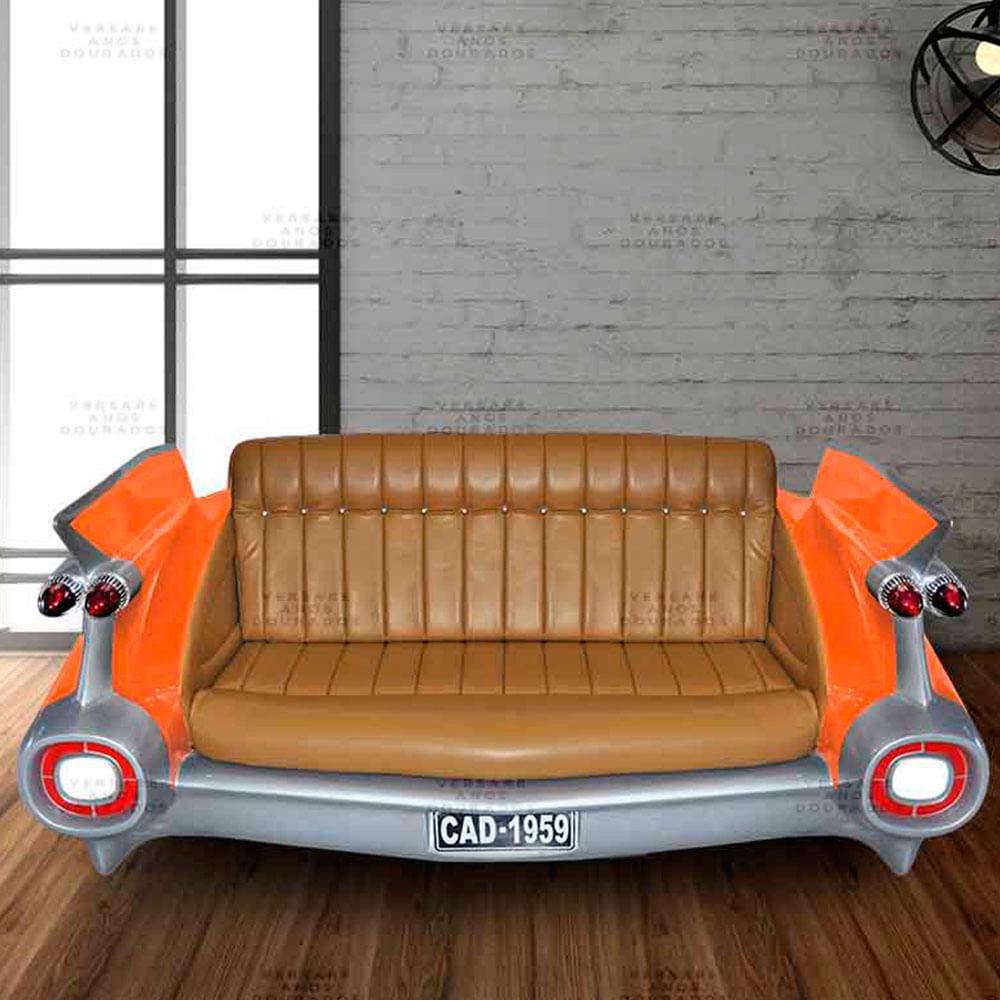 Sofa-Cadillac-Hot-Rod-Laranja---Estofado-Caramelo