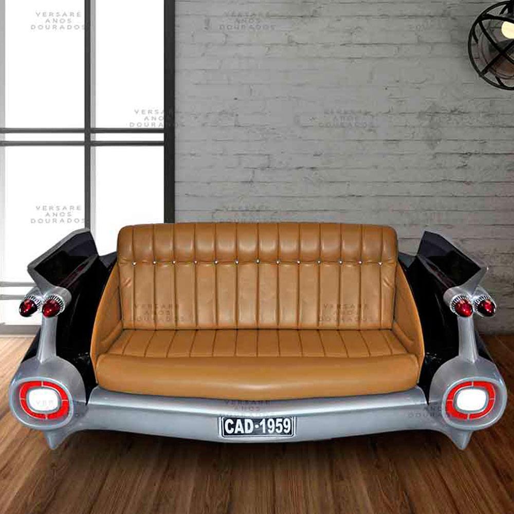 Sofa-Cadillac-The-Godfather-Preto---Estofado-Caramelo
