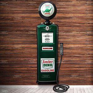 Bomba-de-combustivel-Sinclair-Oil-com-Globo---------------------------------------------------------