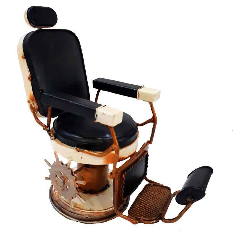 Miniatura-Cadeira-De-Barbeiro-Preto