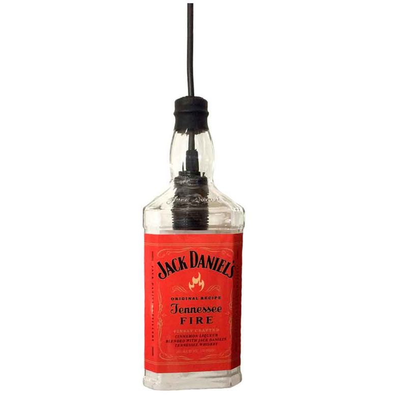 Lustre-Pendente-1-Garrafa-Jack-Daniels-Fire