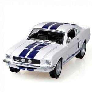 Miniatura-Shelby-Gt-500-1967-Escala-1-38-Branco-E-Azul
